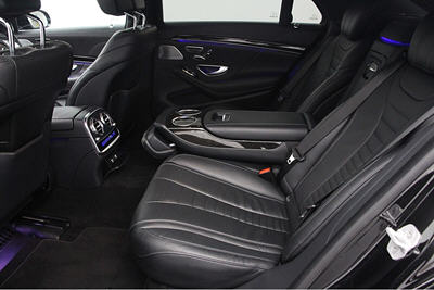 Mercedes rear seating